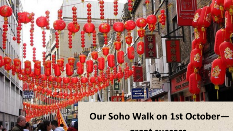 Soho Charity Walk raises money for Dr French
